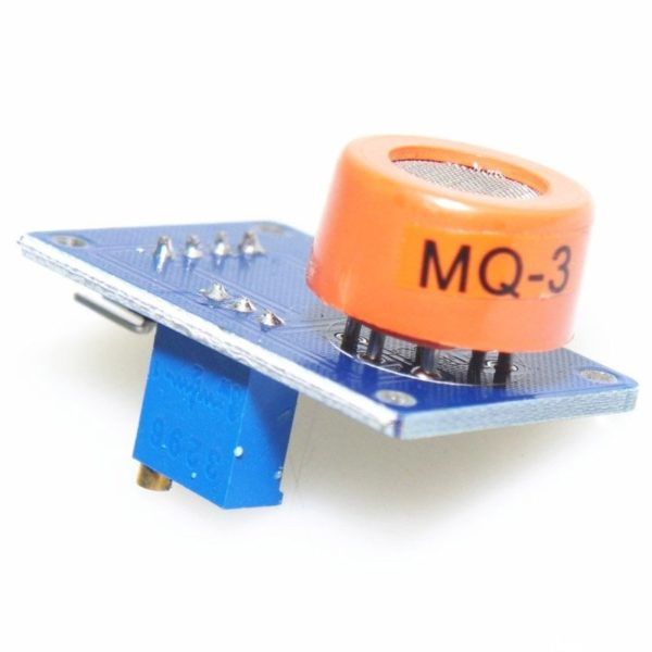 Датчик газа MQ3 (пары спиртов)