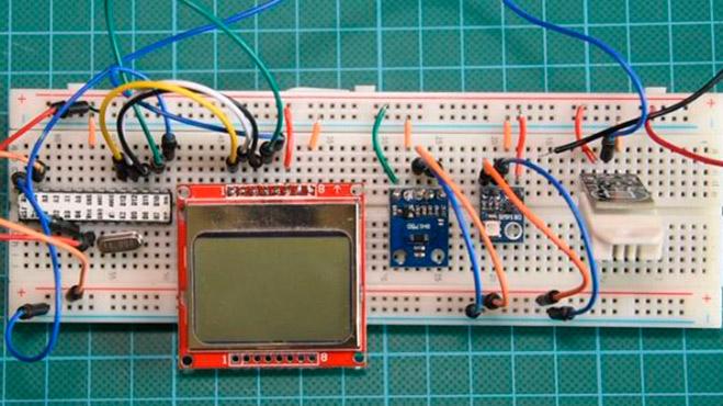 Погодная станция на Arduino со сверхнизким энергопотреблением