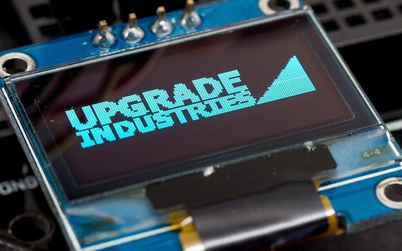 OLED I2C 128 x 64 px – схема подключения к Arduino