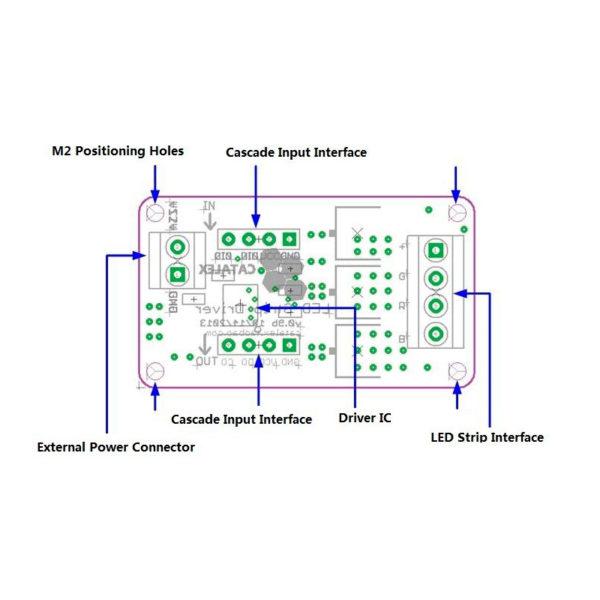 I2C Модуль драйвера управления RGB лентой