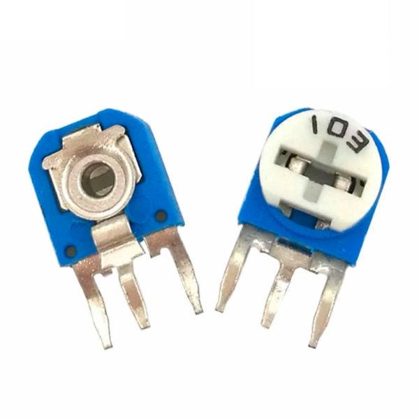 RM063 - подстроечный резистор (0-10 КОм)