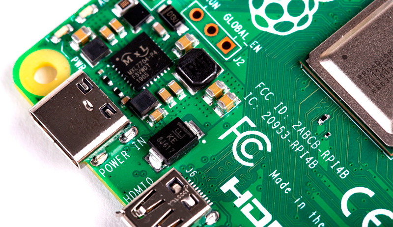 Raspberry Pi 4 - the processor is 3 times more powerful and up to 4