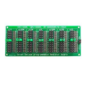 Семиразрядный настраиваемый резисторный модуль