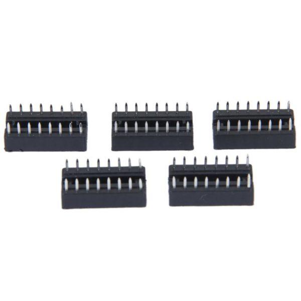 Панелька для микросхем в корпусе DIP16
