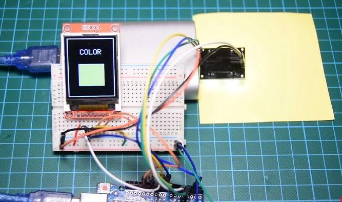 TCS230 - подключение датчика цвета к Arduino