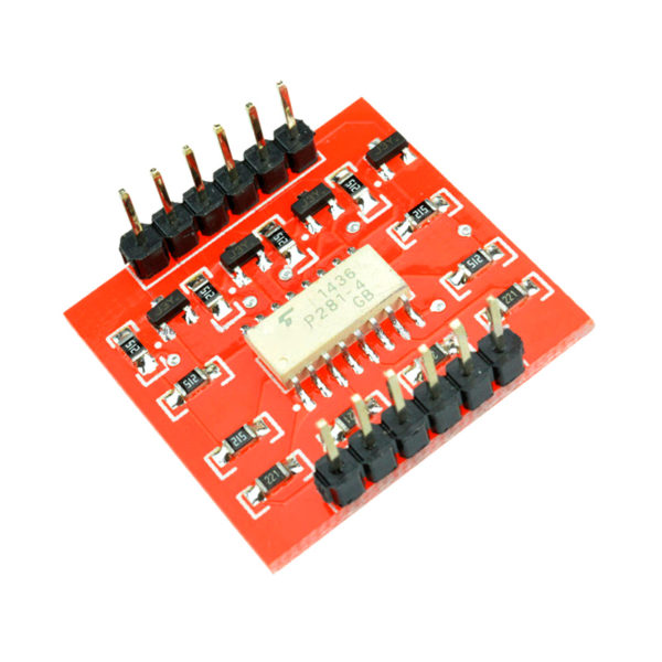 TLP281 - 4-х канальный модуль оптической развязки