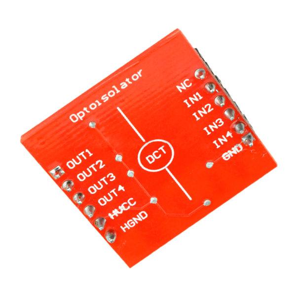 TLP281 - 4-х канальный модуль оптической развязки сигнала