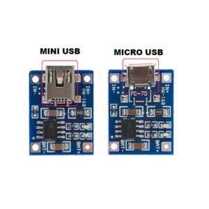 TP4056 - модуль заряда Li-Ion аккумуляторов (без защиты)