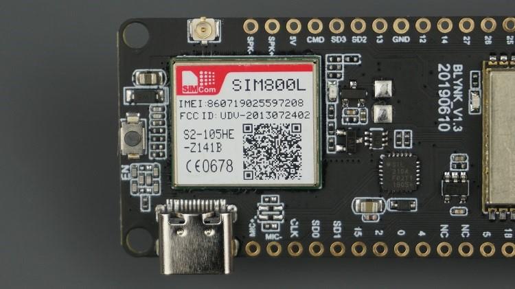 TTGO T-Call ESP32 SIM800L
