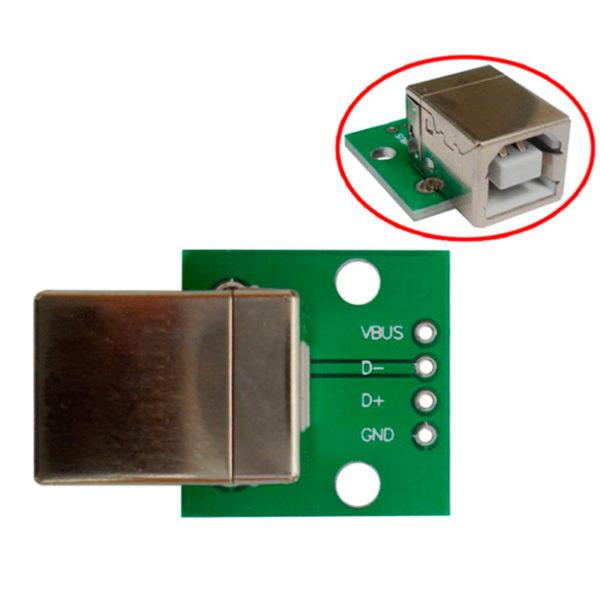 Переходник USB Type B на DIP 4 Pin