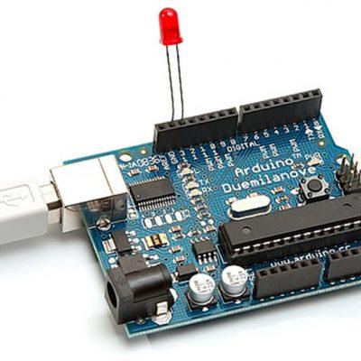 Мигающий светодиод на плате Arduino