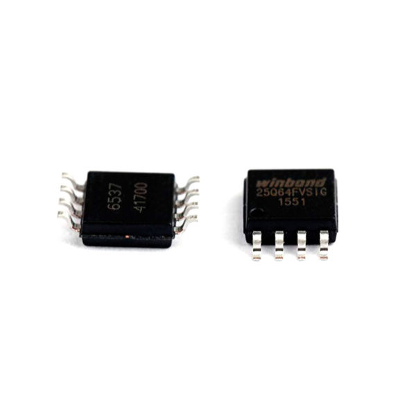 W25Q64 — последовательная флэш-память