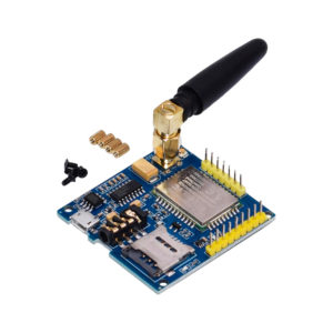 A6 Mini - GSM/GPRS модуль с внешней антенной (TTL / RS232)