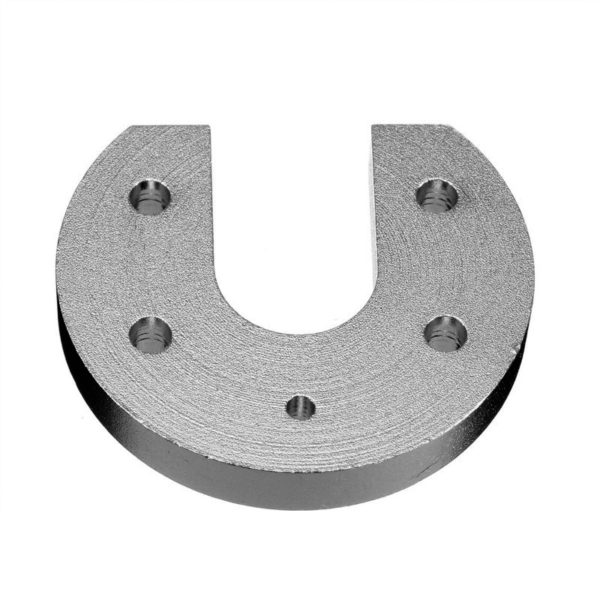 U-образная алюминиевая планка для крепления на радиатор E3D V5/V6