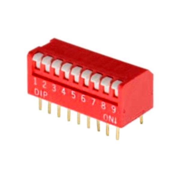 Угловой DIP-переключатель PIANO DP-09