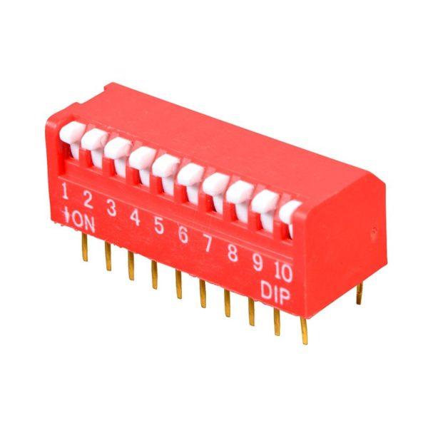 Угловой DIP-переключатель PIANO DP-10