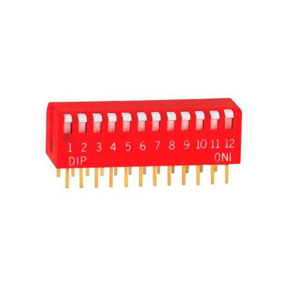Угловой DIP-переключатель PIANO DP-12