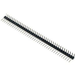 Разъем штыревой (угловая гребенка) PLS-40R 40 pin