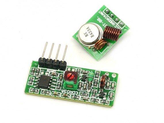 Arduino и радиомодули 433 МГц