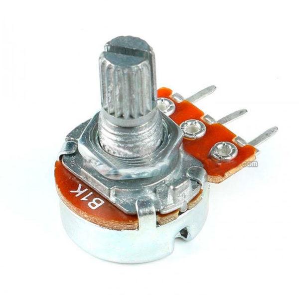 B5K (WH148) - потенциометр на 5кОм