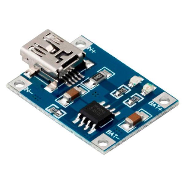 Зарядное устройство для Li-On батарей TP4056 (Mini USB)