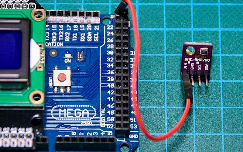 Метеодатчик BME280 - подключение к Arduino