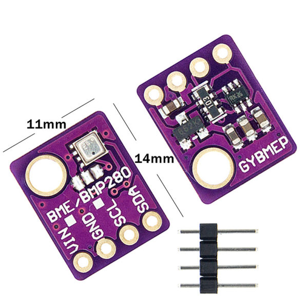 BME280 (5В) - цифровой барометрический модуль