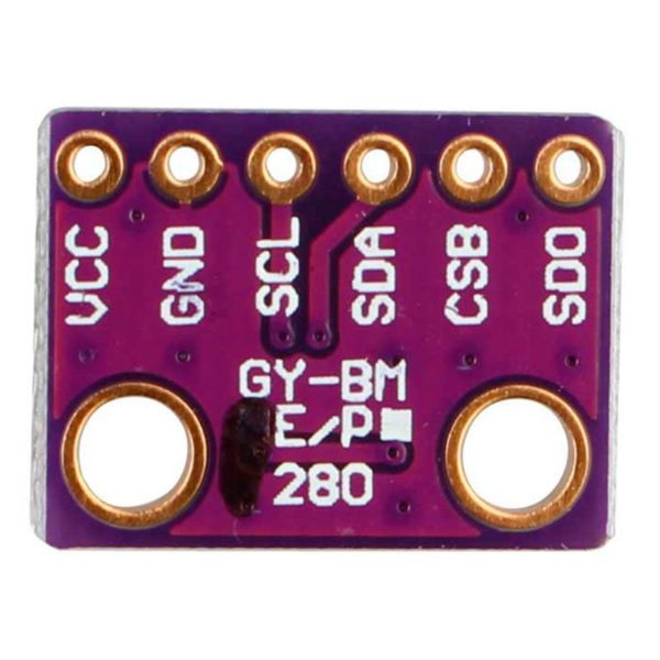 Датчик BMP280 - барометр, термометр и альтиметр
