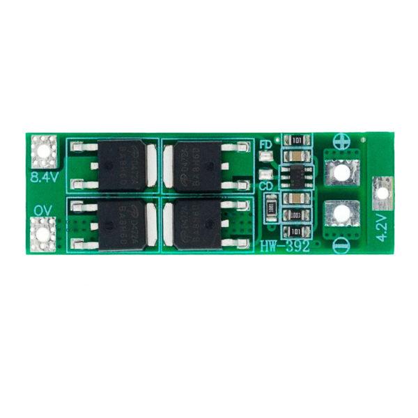 BMS 2S (7.4 - 8.4V / 20A) с защитой