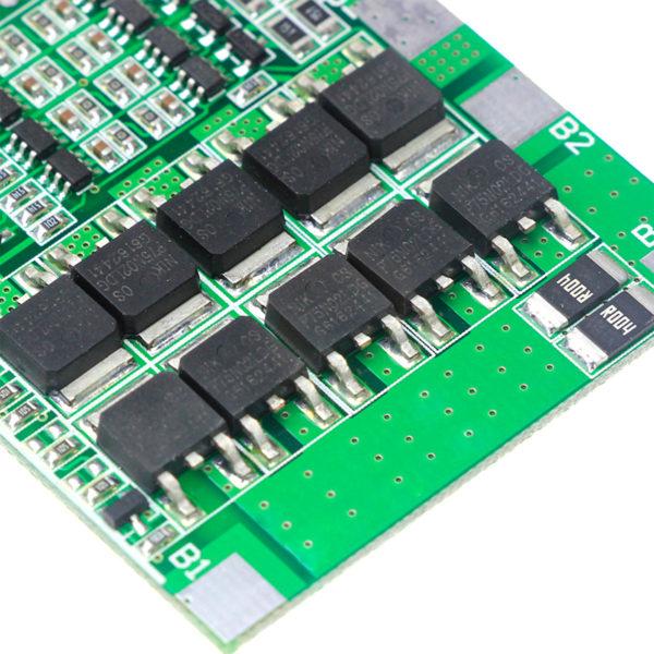 BMS 4S 30A, 14.8В - контроллер заряда Li-ion АКБ
