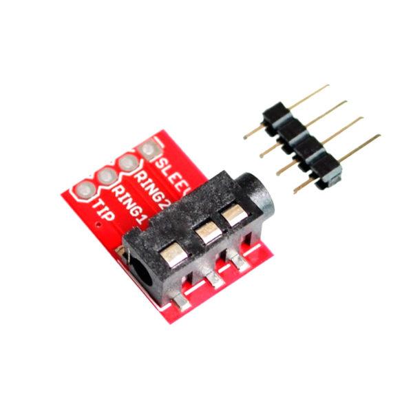 CJMCU-TRRS - интерфейсный мини-джек модуль (3.5 мм)