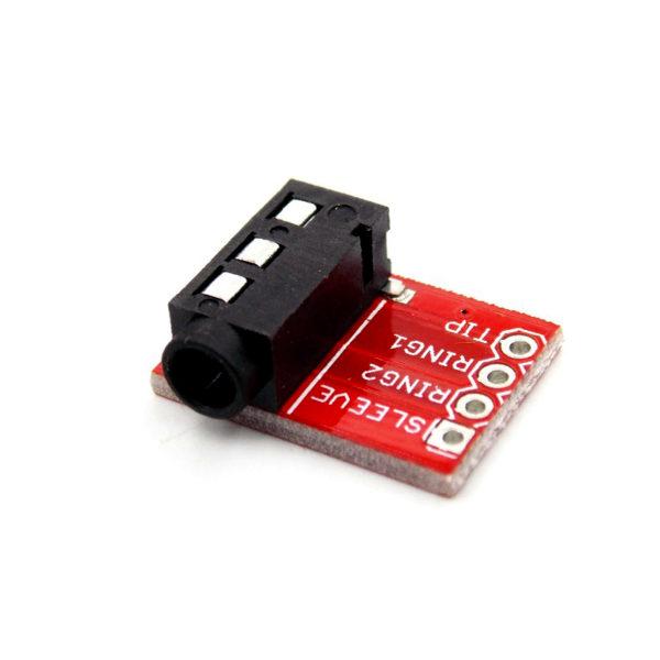Интерфейсный модуль CJMCU-TRRS пригодится при работе с четырёхпиновыми разъёмами mini-jack 3,5 мм.---