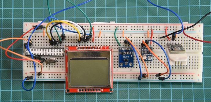 Погодная станция на Arduino