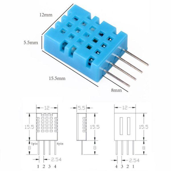 DHT11 - цифровой датчик температуры и влажности