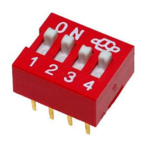 Прямой DIP-переключатель DS-04