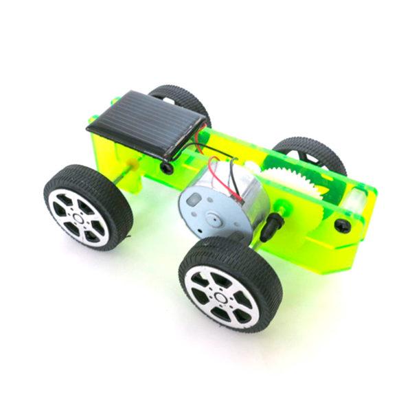 DIY автомобиль на солнечной батарее