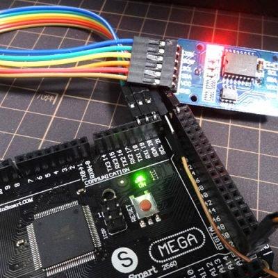 Подключение DS3231 к Arduino