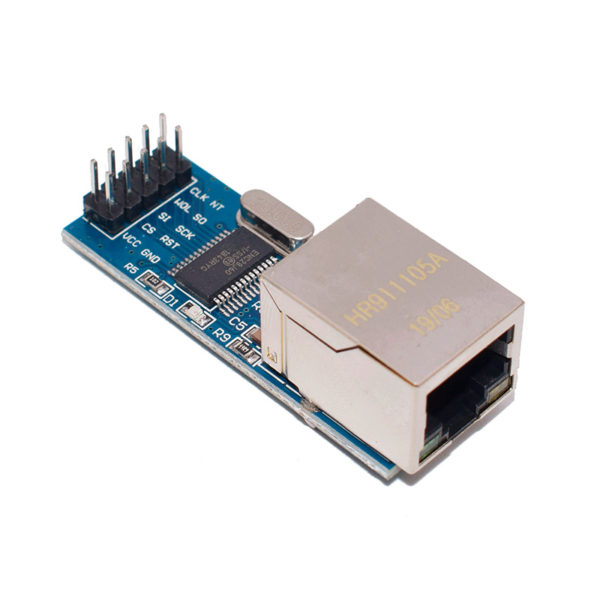 ENC28J60 mini - SPI Ethernet модуль
