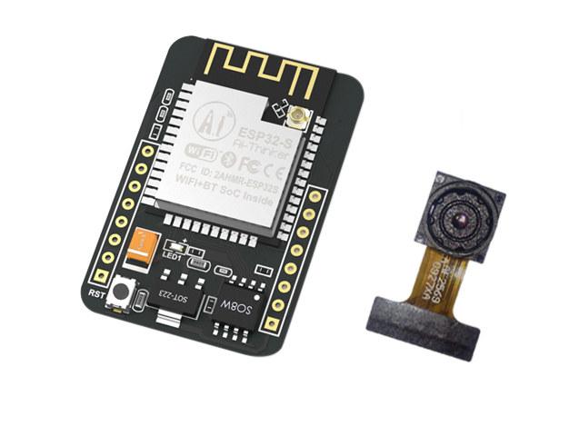 ESP32-CAM- плата разработки с камерой менее чем за 700 рублей