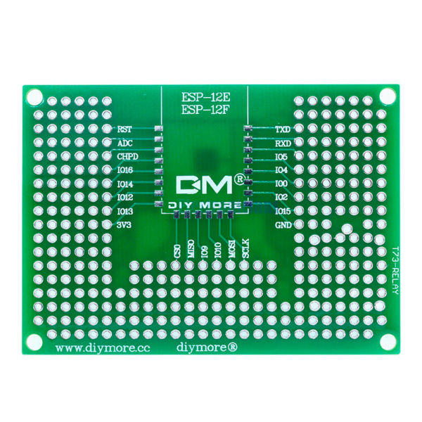 Макетная плата для ESP-32 / ESP-12 (5×7 см, 300 точек)