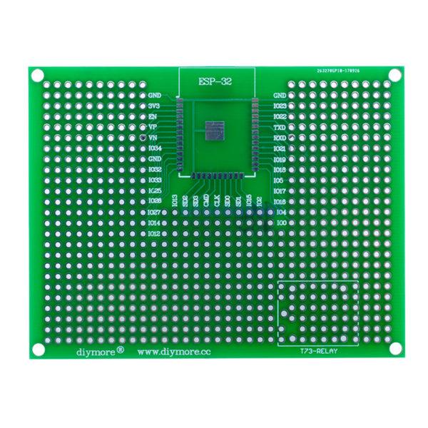Макетная плата для ESP-32 / ESP-12 (7×9 см, 400 точек)