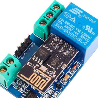 Модуль Wi-Fi реле на базе ESP8266 - обзор и подключение