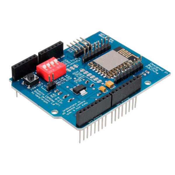 ESP8266 Arduino ESP-12E UART Wi-Fi Shield на базе ESP-12E