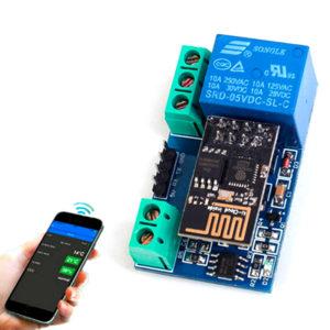ESP8266 реле 5 В Wi-Fi (одноканальный модуль с ESP-01)
