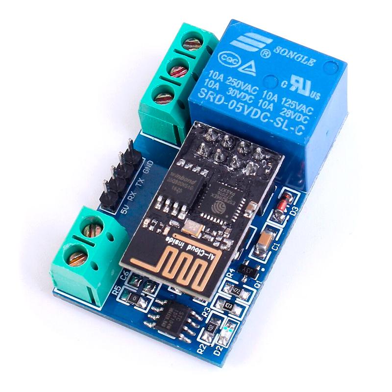 Wi-Fi реле на базе ESP-01