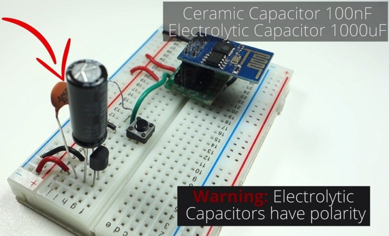 Стабилизатор напряжения для микроконтроллера ESP8266