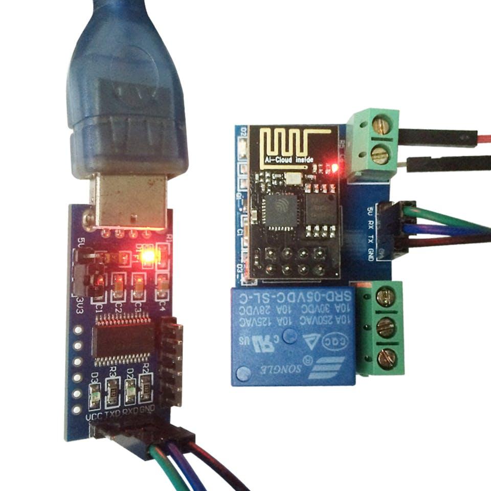 Обзор модуля реле с интерфейсом WiFi на основе серийно выпускаемой микросхемы ESP8266