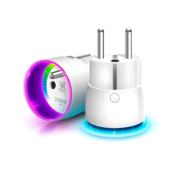 Fibaro Wall Plug - модуль-выключатель в розетку