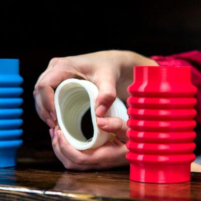 Пример печати гибким (TPU/TPE) пластиком