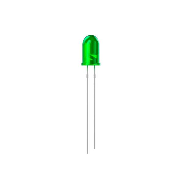 Зеленый светодиод 3ММ